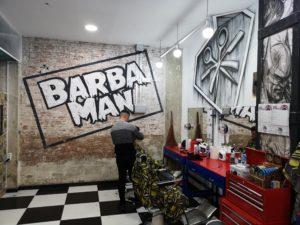 peluqueria y barberia barbaman ramon llull por dentro