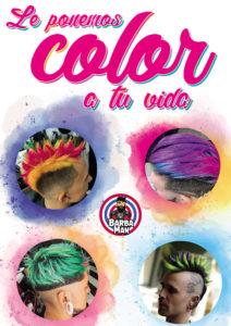 cartel color tinte barbaman valencia