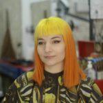 corte cabello y color fantasia barbaman