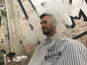 corte de pelo en barbaman barberia en valencia